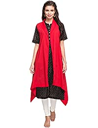 STOP to start Stop by Shoppers Stop Womens Collared Printed Asymmetrical Jacket