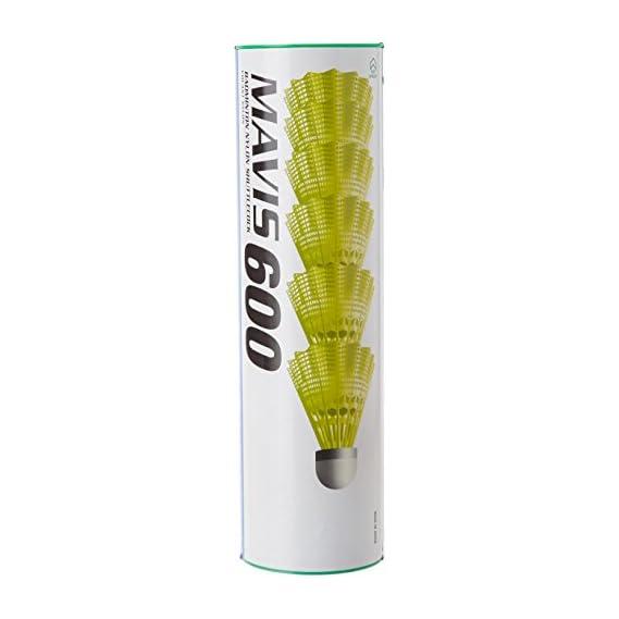 Yonex Mavis 600 Nylon Shuttlecock (Green/Yellow)