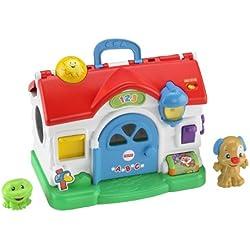 Fisher-Price - Ríe y aprende, casa parlanchina (Mattel BGB75)