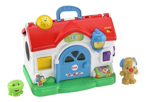 Fisher-Price Ríe y aprende, casa parlanchina (Mattel BGB75)