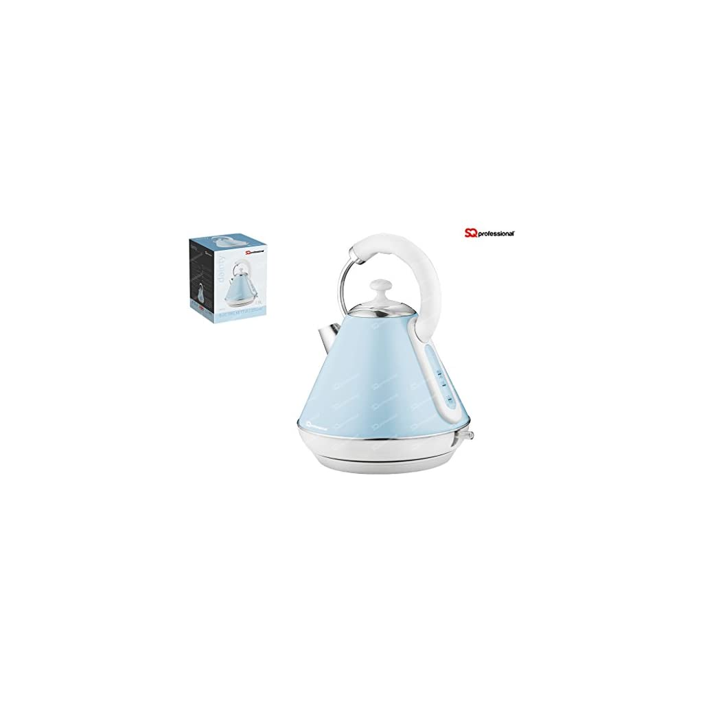 SQ Professional Dainty Legacy Electric Kettle 2200W 1.8L Light Blue