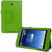 kwmobile Funda para Asus Memo Pad HD 7 - Case delgado para tablet con soporte - Smart Cover slim para tableta en verde