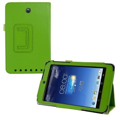 kwmobile Hülle für Asus Memo Pad HD 7 ME173X - Tabletcover Slim Case Tablet Schutzhülle - Smart Cover Tabletcase Grün (Pad Me)