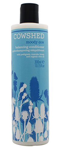 Cowshed Moody Cow Balancing Conditioner (For Oily Hair and Dry Scalp) 300ml