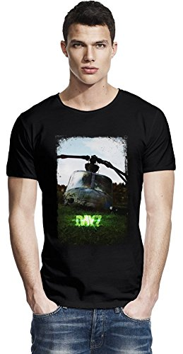 DayZ Helicopter Raw Edge-T-Shirt X-Large