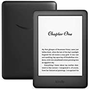 All-New Kindle 10th Gen - 6 Inch Display now with Built-in Light, 8 GB, Wi-Fi, Black