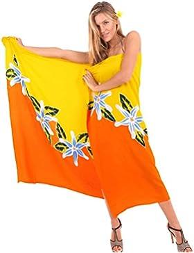 pareo encubrir envoltura de la falda pareo traje de baño traje de baño ropa de playa mano de pintura