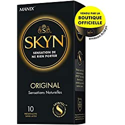 SKYN ORIGINAL - 10 préservatifs SENSATION DE NE RIEN PORTER