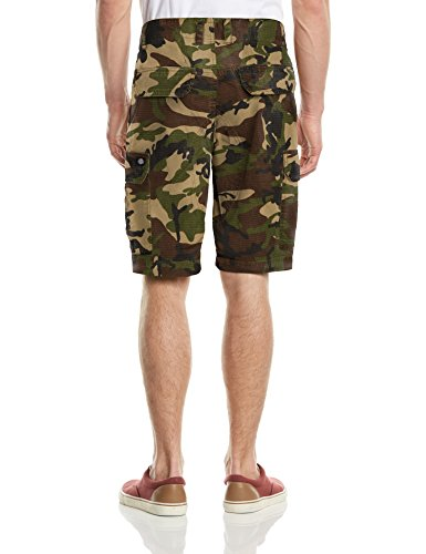 Dickies - New York, Pantaloni corti da uomo Multicolore (Camouflage)