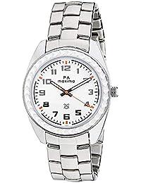 Maxima Attivo Analog White Dial Men's Watch-26631CMGI