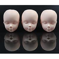 1//6 männlich BJD Headsculpt Kugelgelenk Puppe Kopf DIY Teile Praxis Make Up