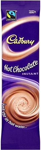 Cadbury Sofort Hot Chocolate Fairtrade (28 g) - Packung mit 2