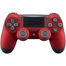 eXtremeRate PS4 Controller Gehäuse Schutzhülle Obere Case Hülle Cover Oberschale Skin Soft Touch Schale Shell für Playstation 4 PS4 Controller JDM-040 JDM-050 JDM-055(Rot)
