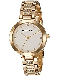 Giordano Analog White Dial Women's Watch - A2037-22