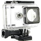 Goliton® étui housse de caméra étanche caméra pour plongée pour sport caméra d'action Xiaomi -Noir