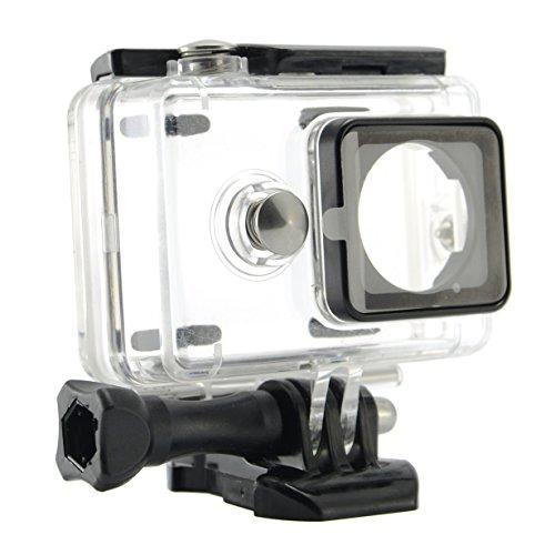 Goliton® 40M Tauchen externe Unterstützungs Wasserdichtes Gehäuse Schutztasche für Xiaomi Sports Tätigkeit Kamera Zubehör – Transparent