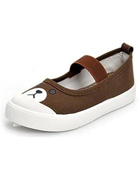 ESTAMICO Zapatillas de deporte de lona de suela de goma de los niñas