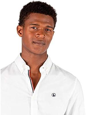 El Ganso 1 Camisa casual, Blanco (Blanco 0001), X-Large para Hombre