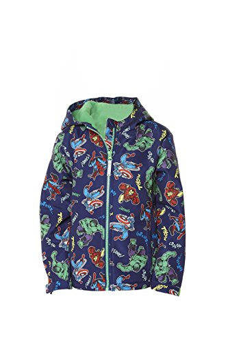 Character Avengers Soft Shell Zipped Jacket 100/% Polyester 2-9 Years Clothing