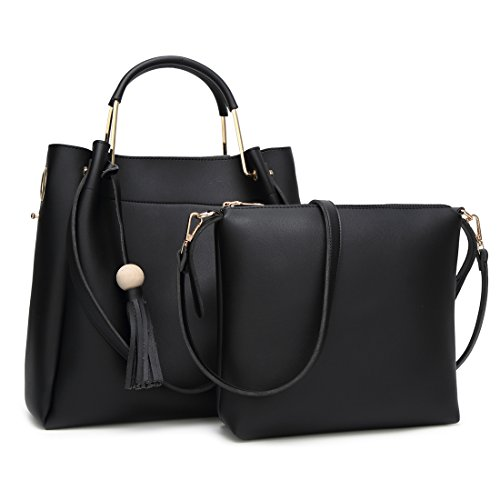 YYW Shoulder Bag, Borsa a mano donna black 2
