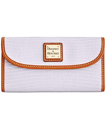 dooney-bourke-lizard-embossed-continental-clutch-wallet
