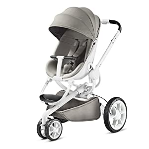 Quinny Stylish Pushchair, Unfolds Automatically at a Push of a Button Moodd Grey Gravel   1