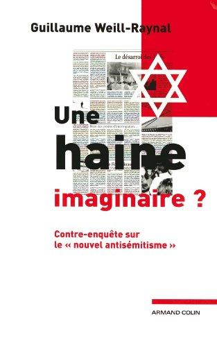 Une haine imaginaire ?: Contre-enquête sur le «nouvel antisémitisme » par Guillaume Weill-Raynal