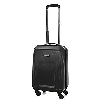 5 Cities de Carry Ligera ABS duro viaje Shell En la cabina de equipaje de mano Maleta con 4 ruedas, aprobados por Ryanair, Easyjet, British Airways, Jet2, Monarch (cabina)