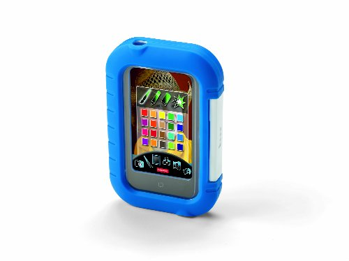 Kid-Tough iPhone / iPod Touch Apptivity Case with Adjustable Pink blu
