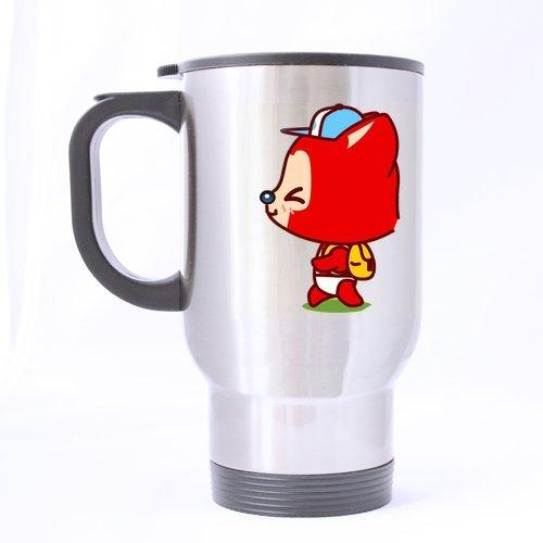 Kleine Fox Custom Travel Tasse Kaffee Tasse (Sliver) ()