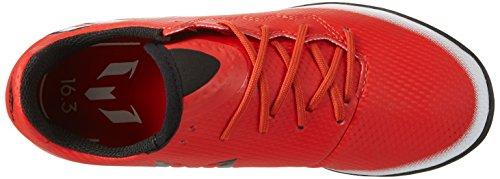 adidas Messi 16.3 Tf J, Scarpe da Calcio Unisex – Bambini Rosso (Red/core Black/ftwr White)