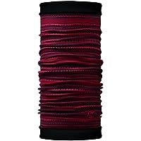 Buff - Cappello multifunzione reversibile, rosso (Picus/nero), Taglia unica