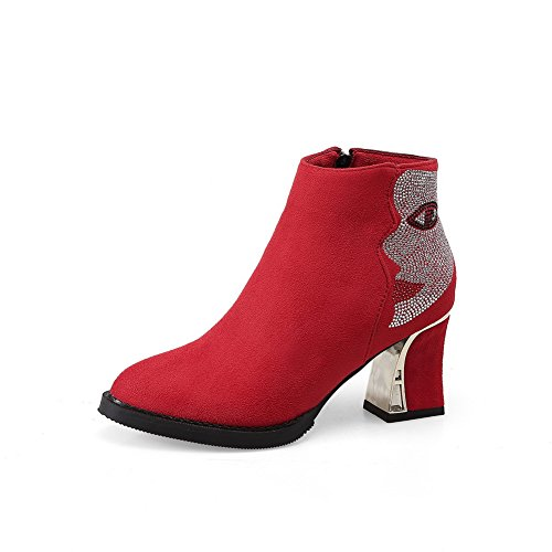 BalaMasa - Stivali Chelsea donna Red