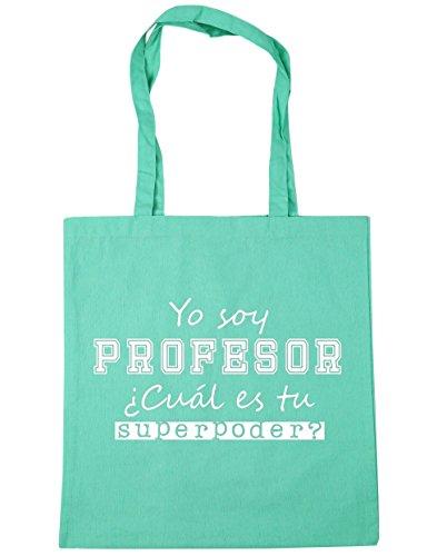 hippowarehouse-yo-soy-profesor-cual-es-tu-superpoder-bolso-de-playa-bolsa-compra-con-asas-para-gimna