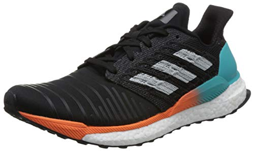 check out 3e51c fc86d adidas Solar Boost, Zapatillas de Running para Hombre, Negro (Core Black Grey