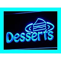 ADV PRO i144-b OPEN Desserts Cafe Shop Display Neon Light Signs