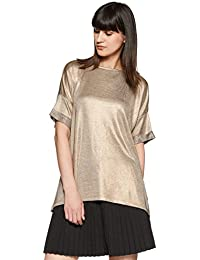 VERO MODA Women's Plain Loose Fit Top