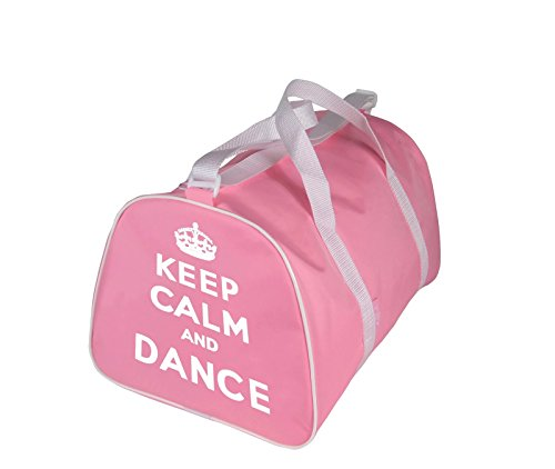 KEEP CALM AND DANZA Borsa Borsone per ballerina in rosa, Rosso, nere o blu - Rosa - Keep Calm and Danza