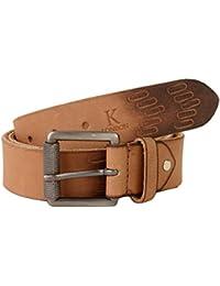 K London Men Casual, Formal Brown Genuine Leather Belt