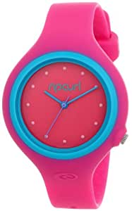 Rip Curl Aurora PU Watch in Pink/Blue sz:One Size