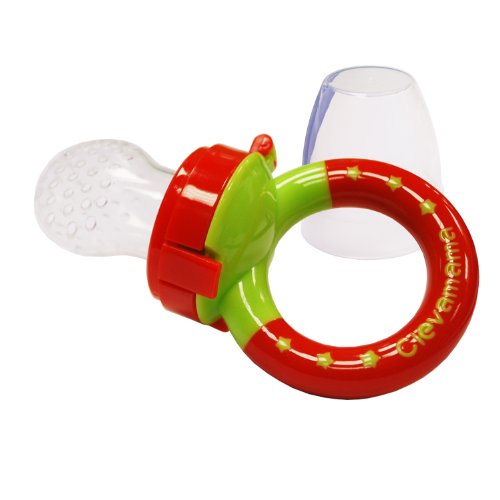 Clevamama ClevaFeed Feeder Pacifier and Extra Silicone Teat 41fHOWzXdFL