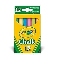 Crayola - Anti Dust Assorted Chalk(1) by Crayola