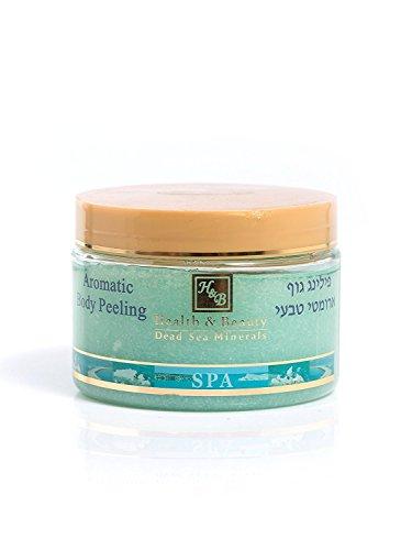 Mer Morte cosmétique - Health and Beauty Dead Sea Minerals - Peeling corporel aromatisé au kiwi - 450 gr