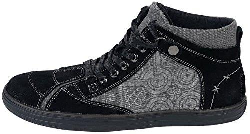 Black Premium by EMP Take The High Road Scarpe Sportive Nero/Grigio Nero/Grigio
