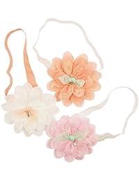 Emitha Bébé Fille Bandeau Bandeau de fleur de chéri élastique serre-tête Wrap Photographie Belles Cheveux Accessoires