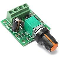 ELEGIANTDC1.8V3V5V6V12V2A Controlador MotorReguladordeVelocidadPMW 1803B30WPWM1803BB1