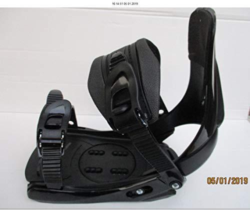 Unbekannt Snowboard Bindung Factory FB 11 schwarz für Schuhgrösse 38 bis 45 -