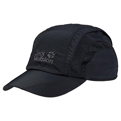 Jack Wolfskin Kappe Vent Pro Cap Black, L