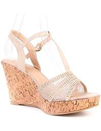 Suchergebnis auf für: kork plateau schuhe: Schuhe