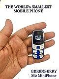 GreenBerry M2 Mini Phone (Blue)